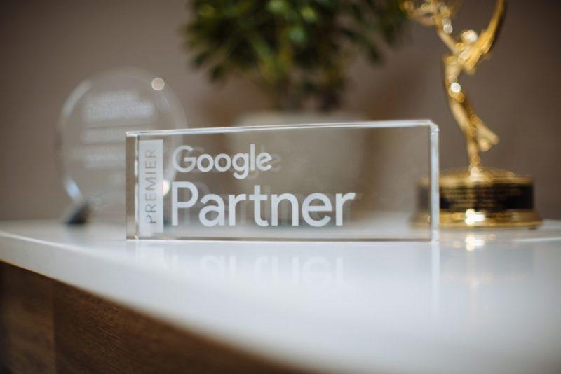 Premier Google Partner Award smid media agency