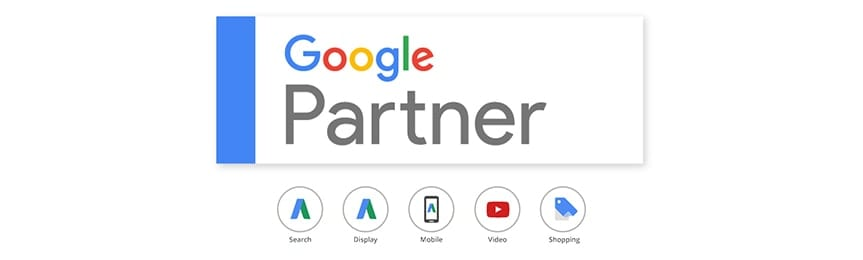 Premier Google Partner badge smid media agency