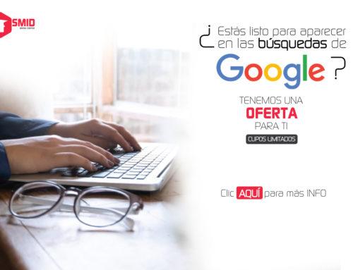 "Crece con Google – "" OFERTA PYME"""