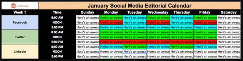 smid agencia media plantilla por crear un plan de rede sociale